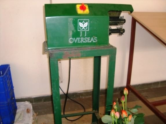 Deleafing Machine for Roses