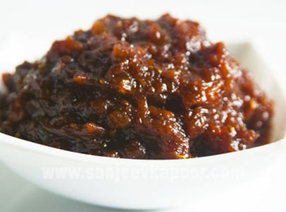 Palm fruit jam