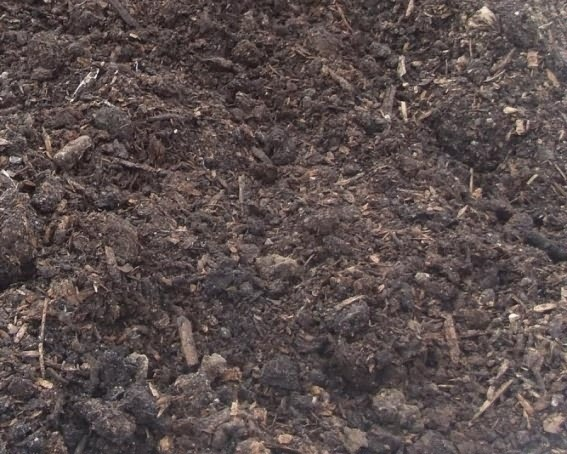 compost in wheat