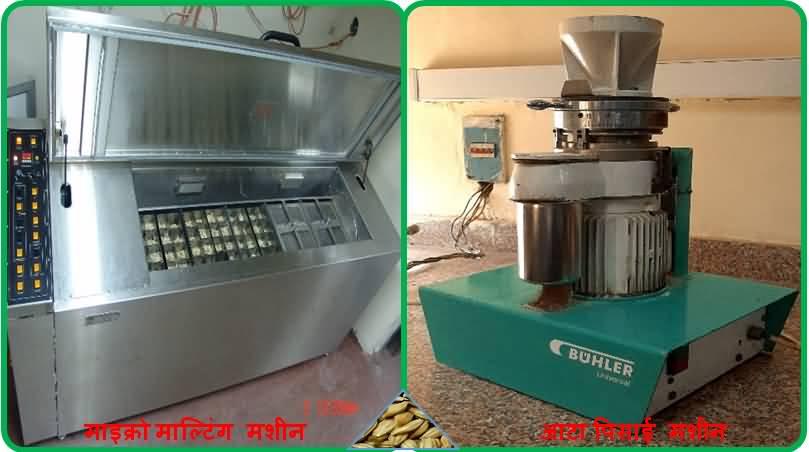 बार्ली प्रक्रिया मशीन