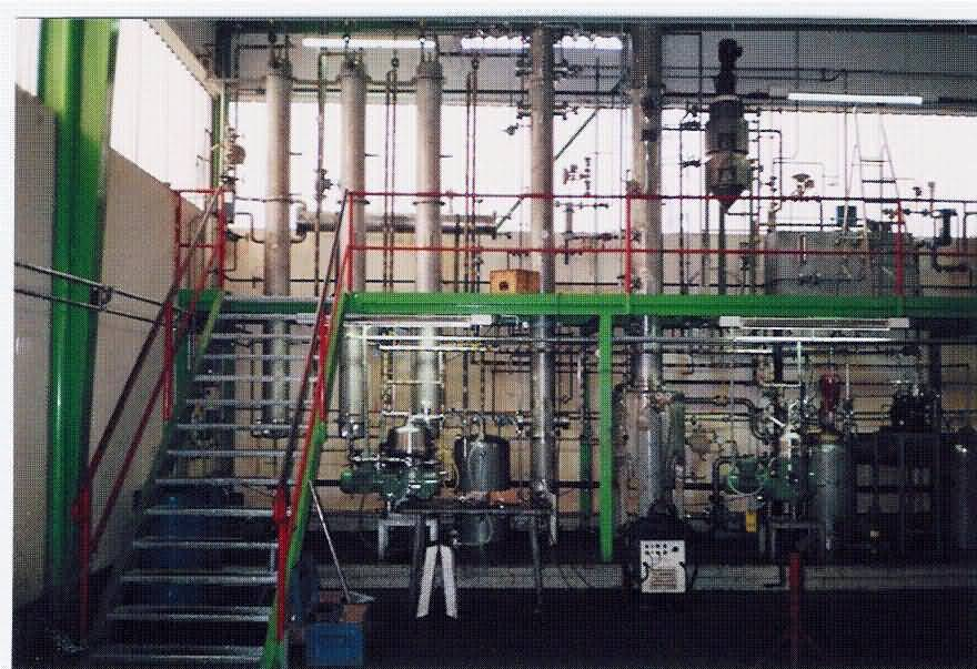 Commercial plant of bio diesel